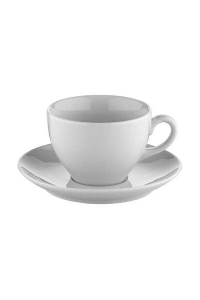 Kütahya Porselen Lima Çay Fincanı Tabaklı 6'lı