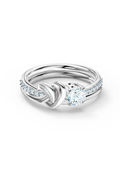 Swarovski Kadın Yüzük Lifelong Hrt-ring Czwh-rhs 58 5535409