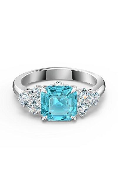 Swarovski Kadın Yüzük Sparkling-ring Aqua-rhs 52 5535592