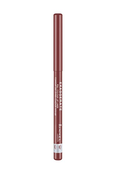 RIMMEL LONDON Dudak Kalemi - Exaggerate Auto Lip Liner 018 Addictio 5012874114061