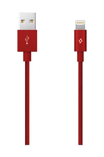 Ttec AlumiCable MFi iPh. Şarj Kablosu-Kırmızı