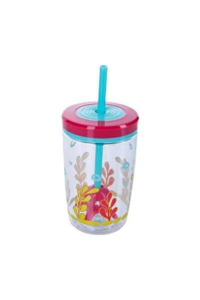 Contigo Floating Straw Tumblr 470 ml  Multi Color Ahtapot Su Matarası 1000-0773