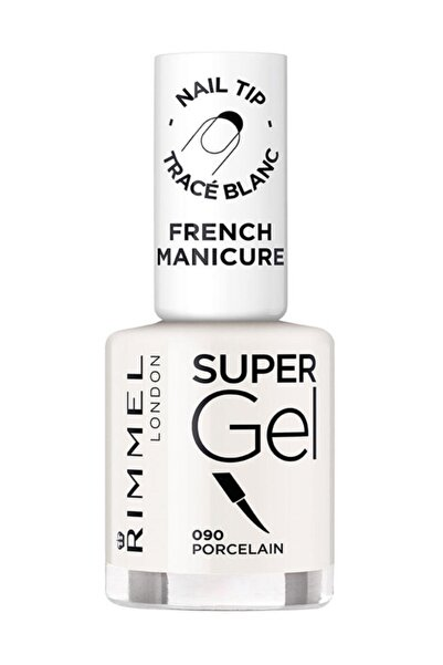 RIMMEL LONDON Oje - Super Gel French Manicure 090 Porcelain 12 ml 30121546