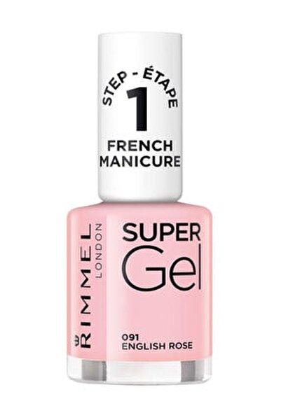 Oje - Super Gel French Manicure 091 English Rose 12 ml 30121553