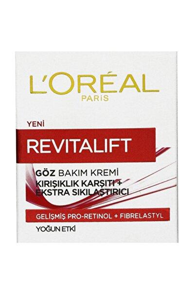 Kırışıklık Karşıtı & Sıkılaştırıcı Göz Kremi - Revitalift Eye Cream 15 ml 3600523303502