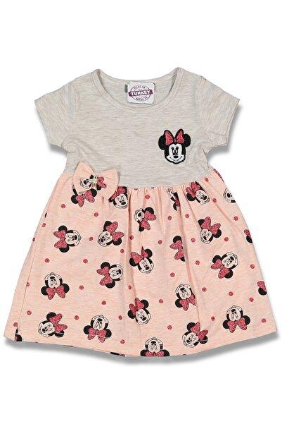 Flower Çocuk  Eteği Mini Mouse Baskılı Elbise