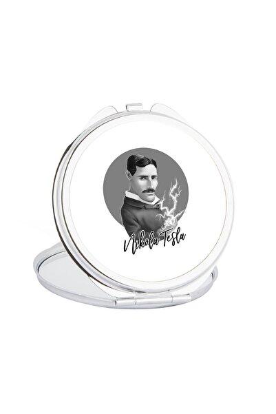 Hediyehanem Nikola Tesla Cep Ayna