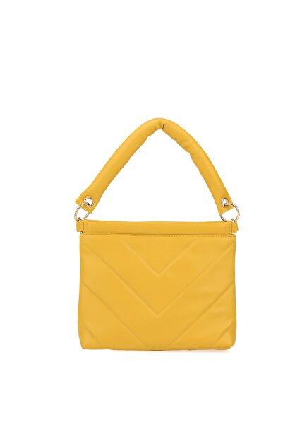 Ziya Kadın Omuz Çantası 101442 B2284 Yellow