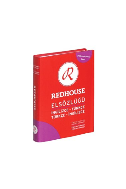 Redhouse Yayınları El Sözlüğü Ingilizce - Türkçe Sözlük