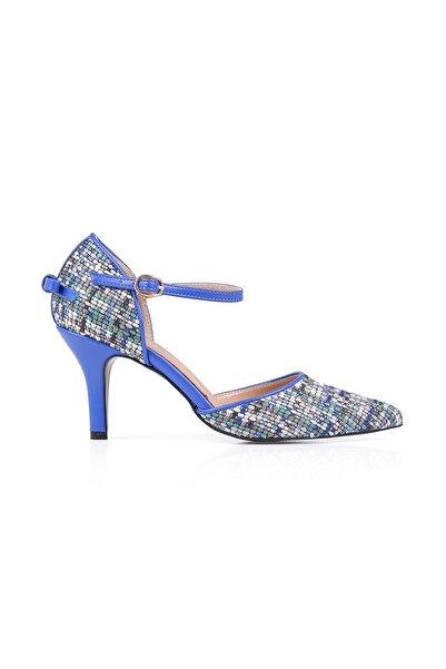 Oblavion Gabriela Mavi Topuklu Ayakkabı