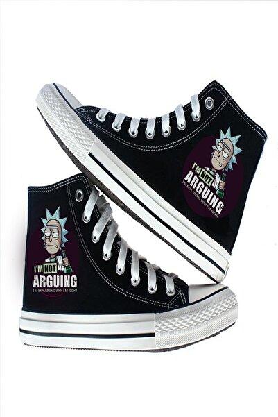 Art's Rick Arguing Tasarım Unisex Baskılı Ayakkabı