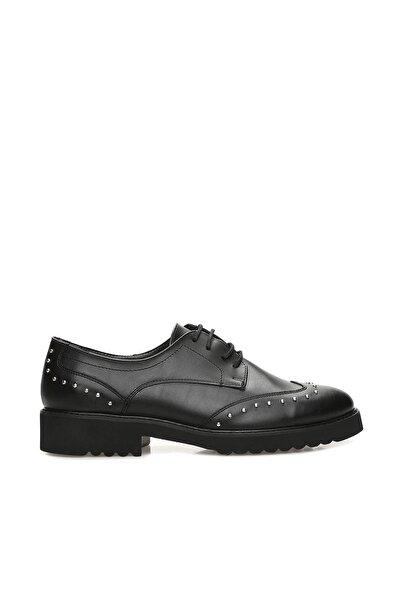 Dıvarese Troklu Siyah Ayakkabı