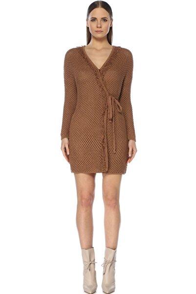 Network Kadın Mini Boy Taba Elbise 1072934