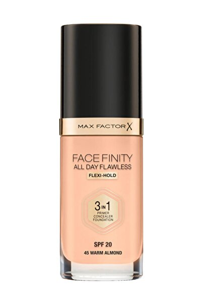 Max Factor Fondöten - FaceFinity All Day Flawless Foundation 45 Warm Almond 3614225851582