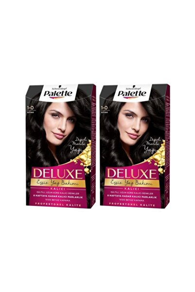 Palette Deluxe 1-0 Siyah  X 2 Adet
