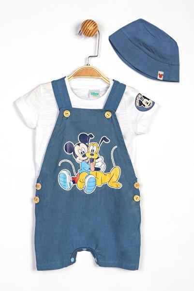 Mickey Mouse Disney Mickey Bebek Salopet ve Şapka 13900