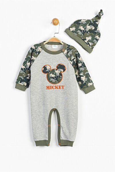 Mickey Mouse Disney Mickey Mouse Bebek Patiksiz Tulum ve Şapka 13363