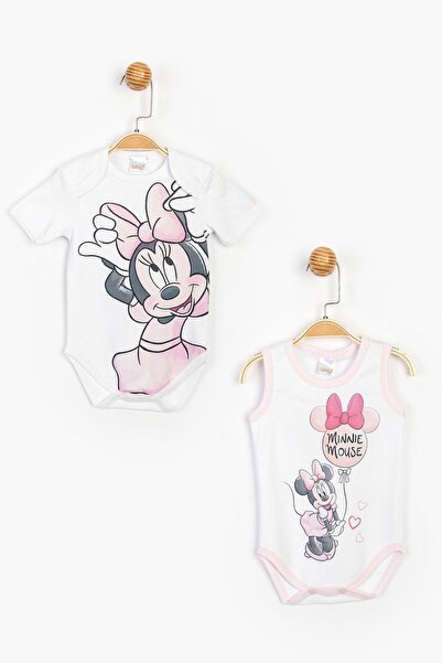 Disney Minnie Bebek 2'li Body 15477