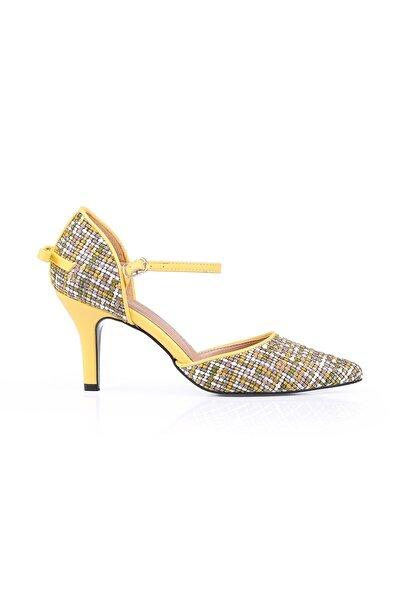 Oblavion Sarı Topuklu Ayakkabı