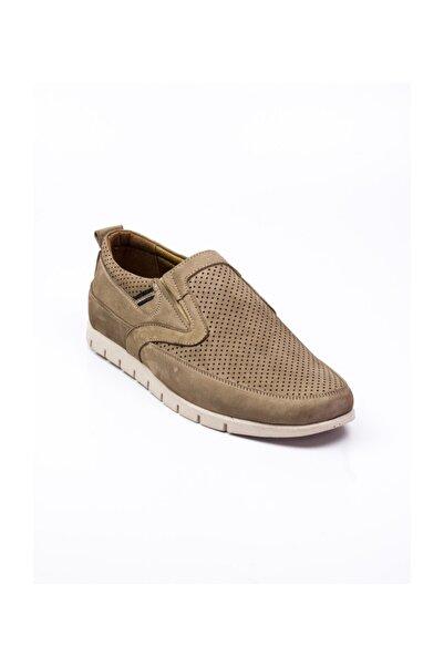 Modesa 251 Nubuk Deri Günlük Erkek Ayakkabı Vizon Vizon-40