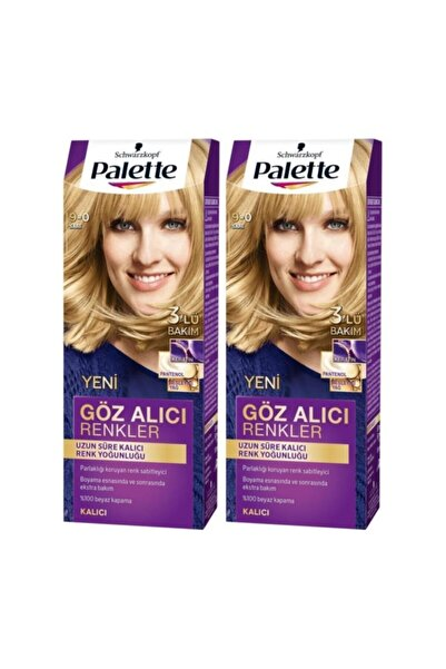 Yoğun göz Alıcı Renk Saç Boyas 9-0 Sarıx 2 Paket
