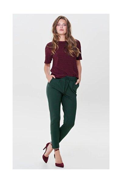 Only Kadın Rahat Kesim Yeşil Pantolon 15115847