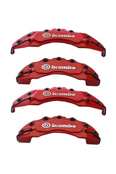 Brembo Chevrolet Cruze Uyumlu Kırmızı Kaliper Kapağı 4lü Yağ Hortumlu
