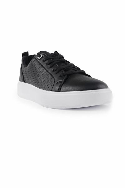 Tommy Life Siyah-Beyaz Erkek Spor Ayakkabı T08ER-89055_01