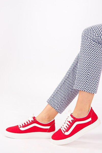 Fox Shoes Kırmızı Kadın Sneakers F652060005