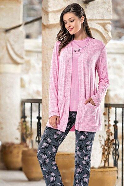 DONWEAR Kadın Üçlü Pijama Takım