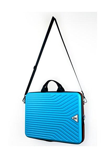 OX 15.6 inç Turkuaz Notebook- Laptop Çantası