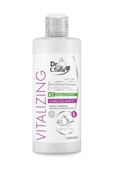 Farmasi Dr. C. Tuna Vitalizing Tüm Saçlar için Canlandırıcı Sarımsaklı Şampuan 225 ml