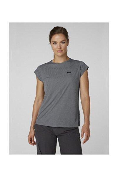 Helly Hansen Racing Top Kadın T-shirt Gri