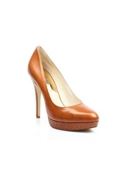 Michael Kors York Kadın Topuklu Ayakkabı Kahverengi 40r3y0hp1l