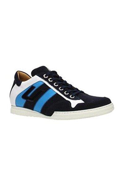 Cesare Paciotti Erkek Spor Ayakkabı Mavi Nngu4tca