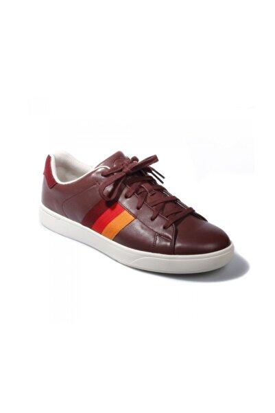 Paul Smith Erkek Spor Ayakkabı Şarap Rengi Srxd 117