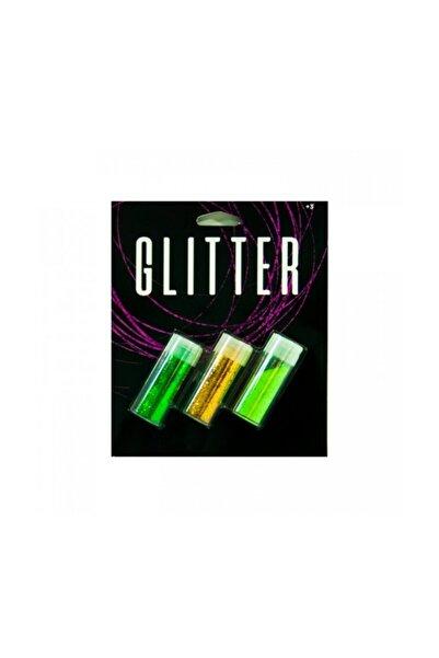 Artikel Yeşil & Altın & Açık Yeşil Glitter