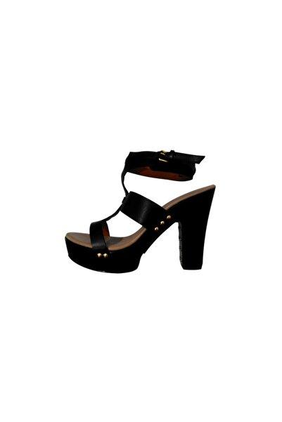 Givenchy Kadın Topuklu Sandalet Siyah 515822