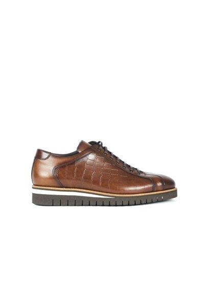 MOCASSINI Kahve Kroko Erkek Casual Ayakkabı  201Mce303 4005