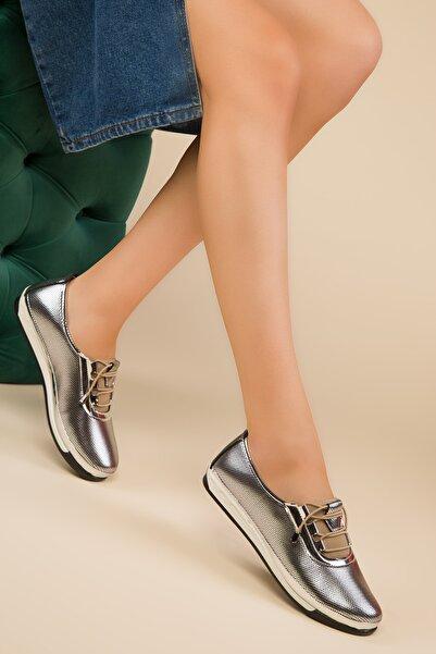 SOHO Gümüş Kadın Casual Ayakkabı 14934