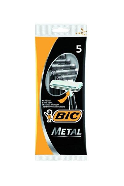 Bic (12 Paket) Metal Tıraş Bıçağı 5 'li Poşet - Kullan-at Bıc Tıraş Aleti