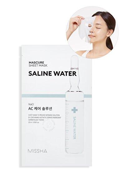 Missha A-C Vitamini İçeren Yaprak Maske - Mascure AC Care Solution Sheet Mask 8809581456570