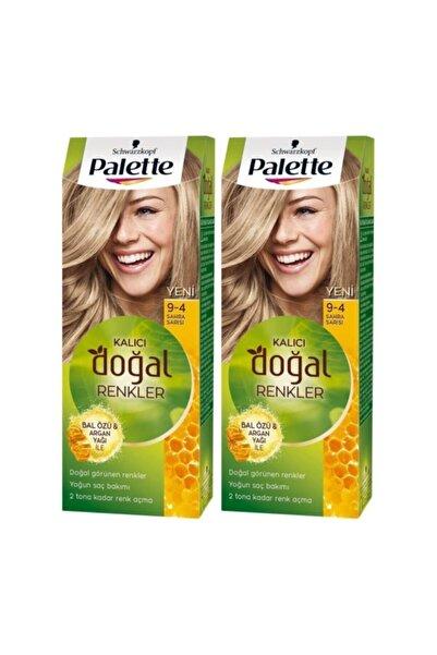 Kalıcı Doğal Renkler 9-4 Sahra Sarısıx 2 Paket
