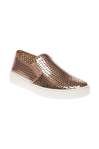 Michael Kors Olivia Bayan Slip On Ayakkabı Pempe Altın 43s5olfp1m