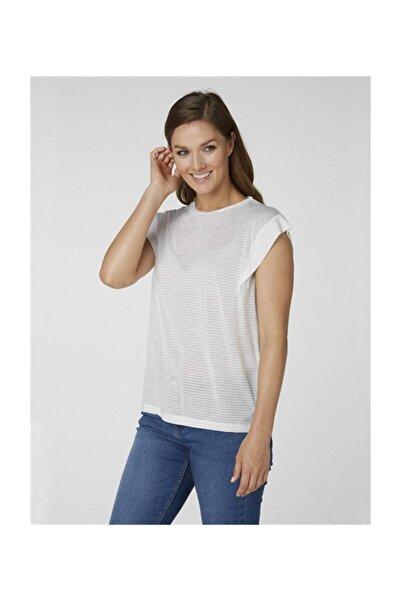 Helly Hansen W Siren Spring Kadın T-Shirt Beyaz