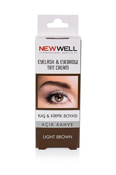 New Well Makeover Light Brown Kaş Kirpik Boyası Açık Kahverengi 15 ml