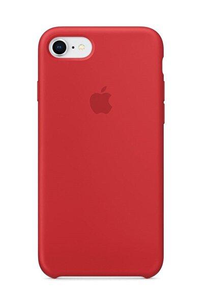 Apple Iphone 7/8 Silikon Kılıf Kırmızı