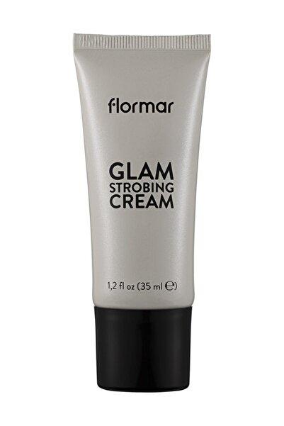 Flormar Makyaj Bazı - Glam Strobing Cream 001 Silver 8690604645909