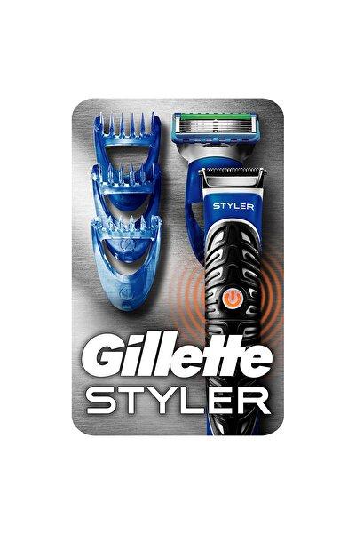 Gillette Fusion Proglide Styler 3'ü 1 Arada Tıraş Makinesi Tıraş, Şekillendirme Ve Düzeltme