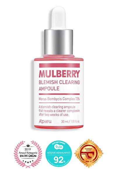 Missha Koyu Lekelenmeler İçin Bakım Serumu - A'Pıeu Mulberry Blemish Clearing Ampoule 8809643507622